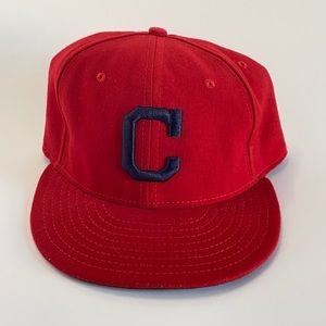 New Era Cleveland Indians Official On-Field Cap